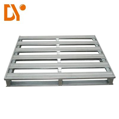 Heavy Duty Workshop Hộp kim loại Pallet Hộp 4-Way Entry Type Double Faced Style